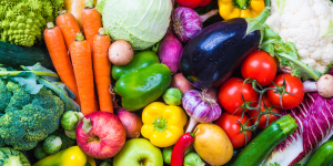 Gemüse und Vitamine
