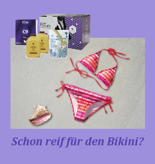 Schon reif für den Bikini?